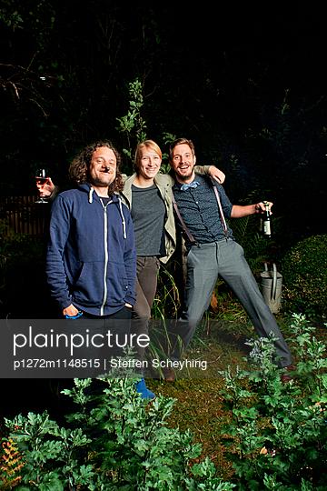 Gartenparty - p1272m1148515 von Steffen Scheyhing