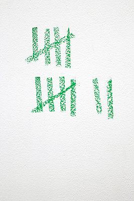 Strichliste - p2370632 von Thordis Rüggeberg