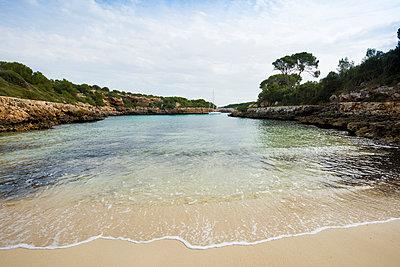Bay near Cala d´Or, Majorca, Balearic Islands, Spain - p1316m1422608 by Daniel Schoenen
