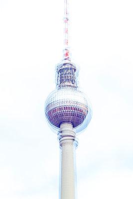 Television Tower, Berlin, Germany - p1062m1172121 by Viviana Falcomer