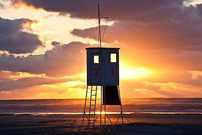 Turm im Sonnenuntergang - p4880218 von Bias