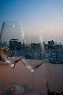 Dinner at heights - p7840021 by Henriette Hermann