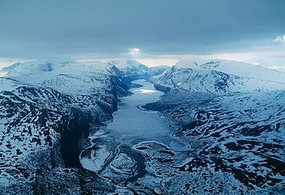 Mountain landscape Sweden - p31222285f by Per Eriksson