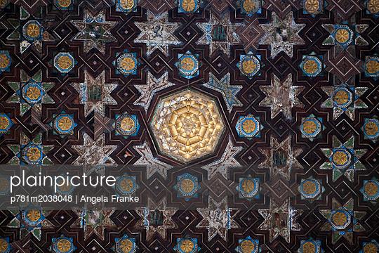 Alcazar, Intarsien - p781m2038048 von Angela Franke