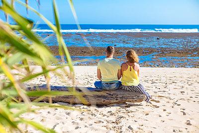 Paar am Strand - p1108m1503451 von trubavin