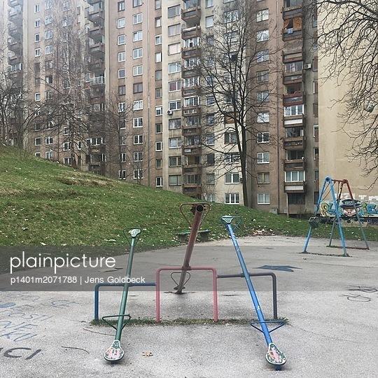 Spielplatz - p1401m2071788 von Jens Goldbeck