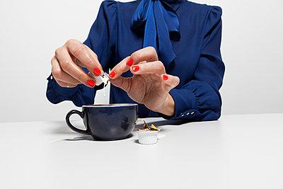 Coffee break - p801m1585688 by Robert Pola