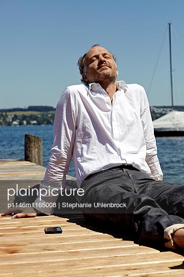 Entspannung am See - p1146m1165008 von Stephanie Uhlenbrock