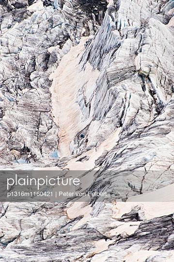 Gornergletscher, Walliser Alpen, Zermatt, Kanton Wallis, Schweiz - p1316m1160421 von Peter von Felbert