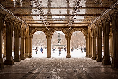 Views of Central Park in New York. - p343m1088986 by Mat Rick