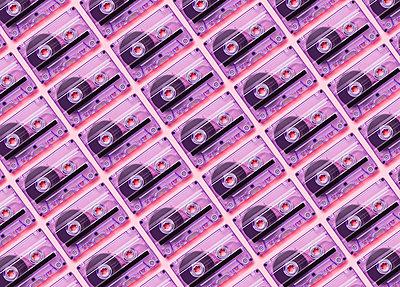 Kassetten - p1149m1591155 von Yvonne Röder