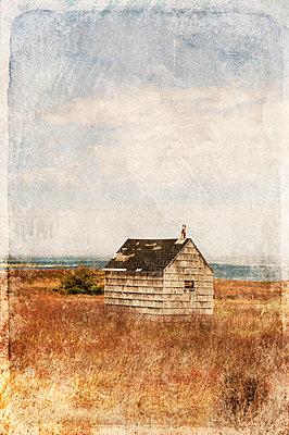 Holzhütte in Kanada - p470m1090538 von Ingrid Michel