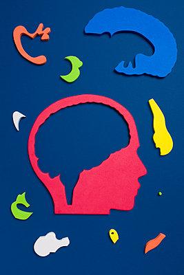 Gehirn - p1094m1015431 von Patrick Strattner