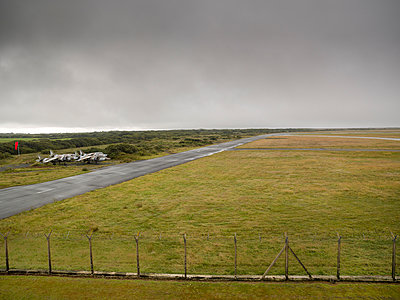 Plane grave yard in Predannack airfield - p1201m1039926 by Paul Abbitt