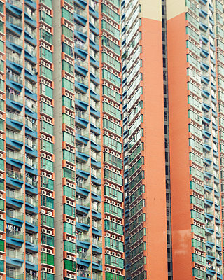 Block of flats, Beijing - p1542m2142297 by Roger Grasas
