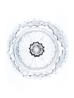 Crystal glass vase - p401m2168791 by Frank Baquet