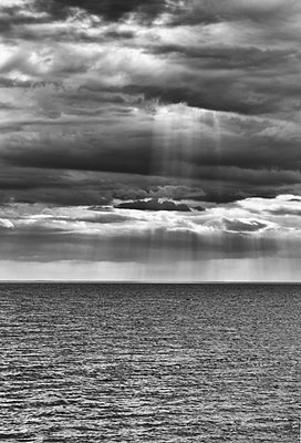 Rain clouds - p858m1044508 by Lucja Romanowska
