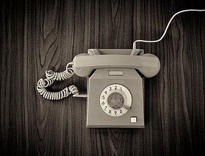 old phone - p509m1464853 by Reiner Ohms