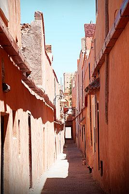 Alleyway in the Medina of Marrakech  - p1248m2210902 by miguel sobreira