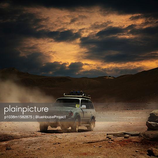 Wüstentour bei den Fumaroles de Sol de Mañana - p1038m1582875 von BlueHouseProject