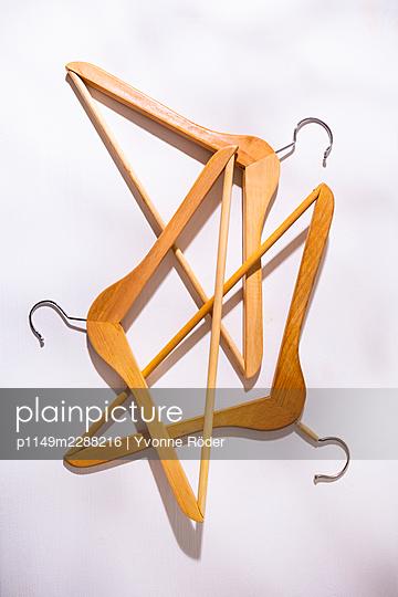 Clothes hangers - p1149m2288216 by Yvonne Röder