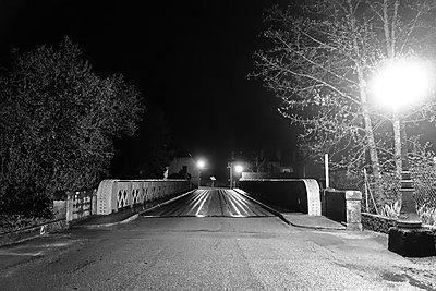 Bridge at night - p1189m1218632 by Adnan Arnaout