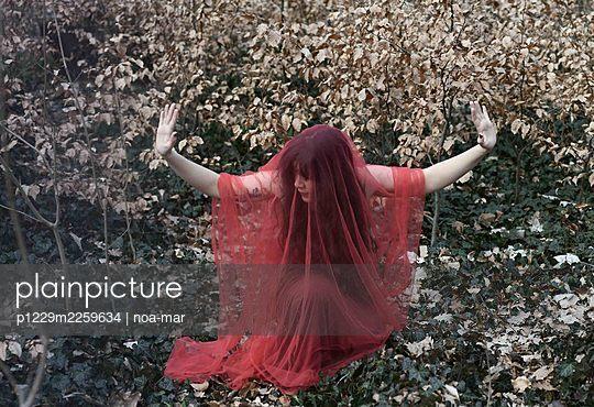 Dance in red dress - p1229m2259634 by noa-mar