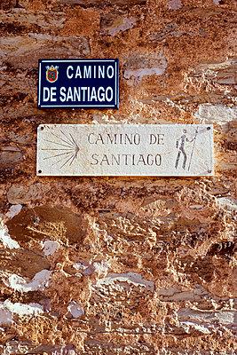 Camino des Santiago signpost - p1165m1441847 by Pierro Luca