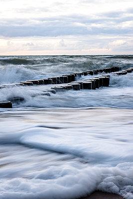 Baltic Sea at Darsser Ort, Mecklenburg-Western Pomerania, Germany - p300m2143753 by Ega Birk