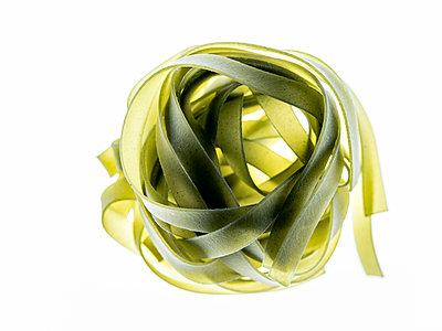 Green Tagliatelle - p401m2128639 by Frank Baquet