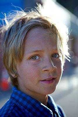 Child Portrait - p1260m1072199 by Ted Catanzaro