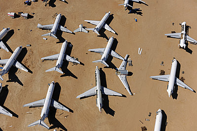 Airliner scrap yard - p1048m1058610 by Mark Wagner