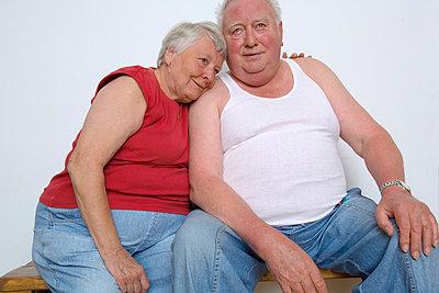 Altes Ehepaar - p2873212 von Ralf Mohr