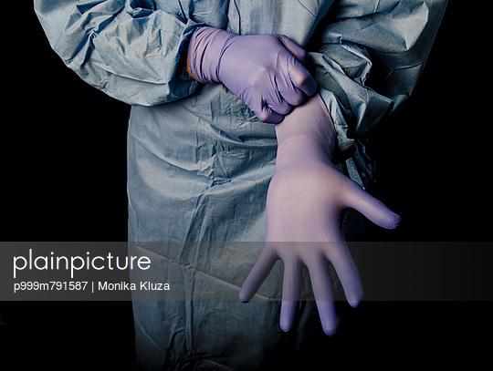 Surgeon - p999m791587 by Monika Kluza