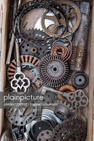 alte Schlüssel - p949m1200310 von Frauke Schumann