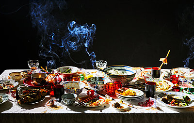 Chinese dinner - p1397m2054826 by David Prince
