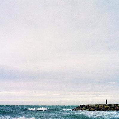 Man alone - p7780019 by Denis Dalmasso