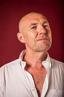 Portrait of a mature man - p924m734679 by Raphye Alexius