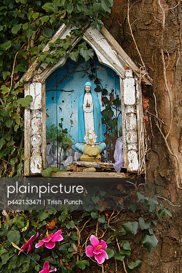 small grotto and religious shrine; corofin county clare ireland