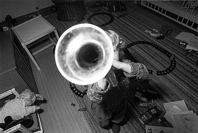 Trompeter - p417m890889 von Pat Meise