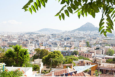 View of the town Athens - p454m2177764 by Lubitz + Dorner