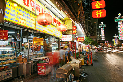 Chinatown, Bangkok, Thailand, Southeast Asia, Asia - p8712726 by Angelo Cavalli