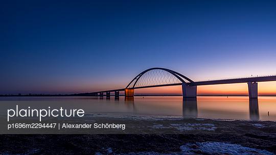 Fehmarn Sound Bridge - p1696m2294447 by Alexander Schönberg
