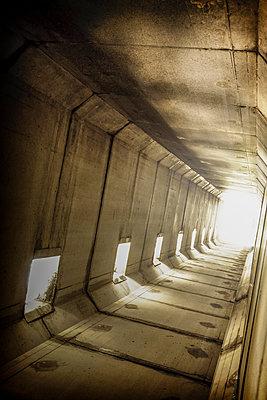 Futuristic tunnel - p1228m1208654 by Benjamin Harte