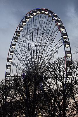 Ferris wheel - p596m1563745 by Ariane Galateau