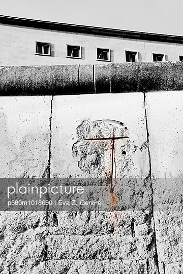 Old wall - p580m1018690 by Eva Z. Genthe