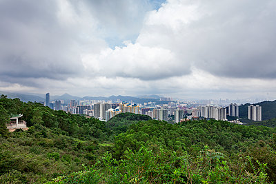 A viewpoint above Tsing Yi, Hong Kong - p1558m2132815 by Luca Casonato