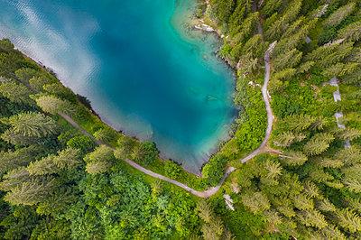 Switzerland, Graubünden, Cauma Lake  - p1332m2230746 by Tamboly