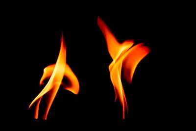 Tanzende Flammen - p089m945681 von Gerd Olma