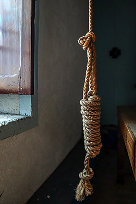 Church Bell Rope  - p1019m2116419 by Stephen Carroll